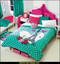 Teal And White Bedrooms by Decorating Theme Bedrooms Maries Manor Paris Themed Bedding
