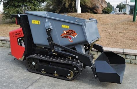 China Hydraulic Crawler Mini Dumper Fw60, Power Barrow