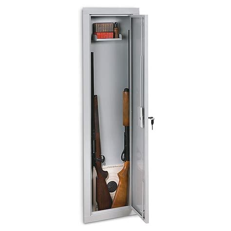 stack on in wall gun cabinet 161400 gun safes at - Stack On In Wall Gun Cabinet