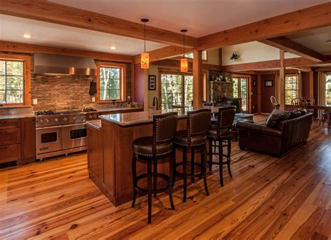 Kitchen Floors Ideas - upscale living in small homes