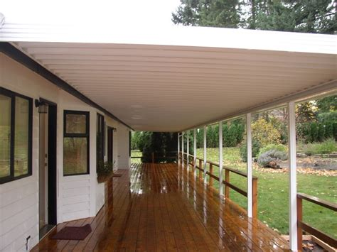 awnings and patio covers how much slope does my awning