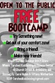 Free Bootcamp Template | PosterMyWall