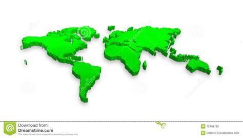 Carte Du Monde 3d by 3d World Map Stock Illustration Illustration Of Oceans