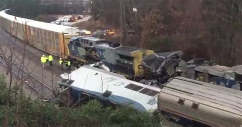 Amtrak Passenger Train Involved In Fatal Collision With