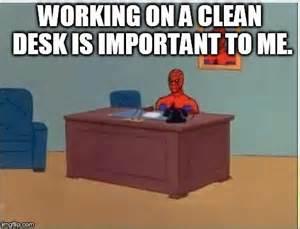 computer desk meme imgflip