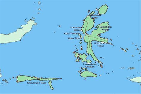 pin peta maluku utara  pinterest