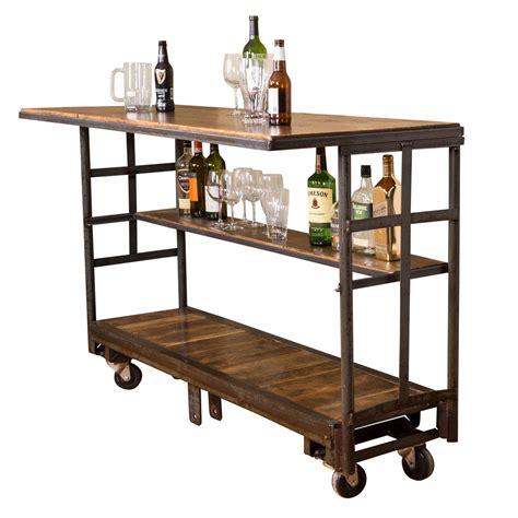 Rolling Bar vintage cart rolling bar with shelf napa east