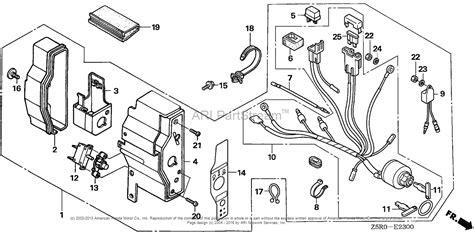 honda engines gx390r1 vkb2 engine jpn vin gcank 1000001 parts diagram for control box 1