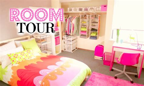 Make Your Bedroom Awesome by Back To Room Organization Amp Room Tour Youtube