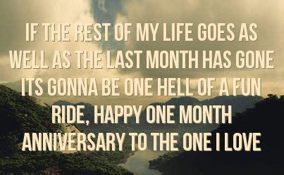 month anniversary quotes  boyfriend quotesta