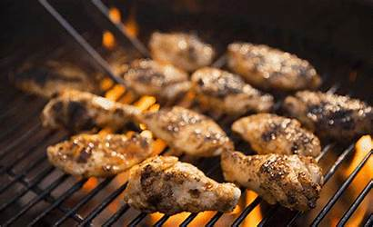 Chicken Wings Cooking Gifs Grilling Bbq Animated