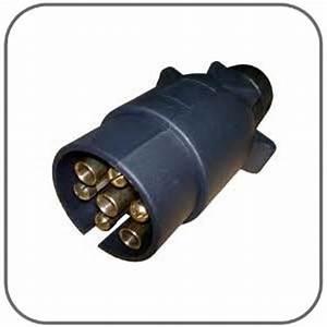 Caravansplus  7 Pin Large Round Trailer Plug
