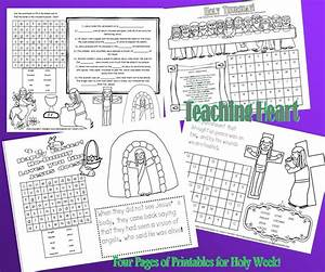 6 Best Images of Printable Religious Easter Activities ...