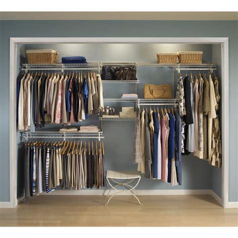 Closetmaid Shelftrack by Closetmaid 174 Shelftrack 174 Wire Closet Kit At Menards 174
