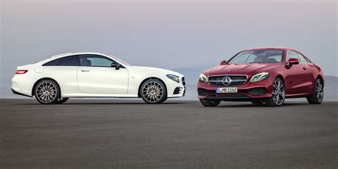 2017 mercedes benz e class coupe revealed ahead of