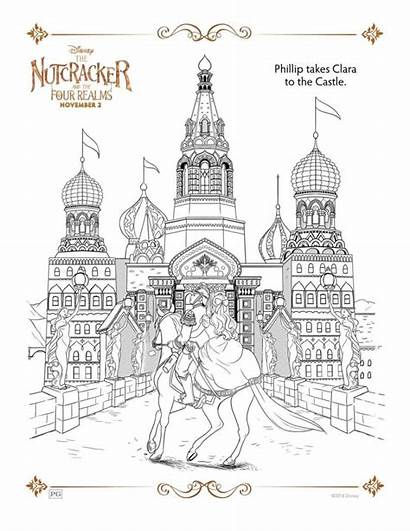 Activity Nutcracker Disney Pages Sheets Coloring Story
