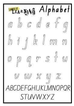 alphabet outline foundation font  images