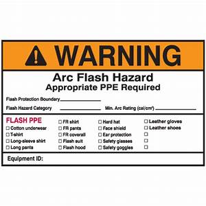 nec arc flash protection labels warning arc flash hazard With arc flash labels explained