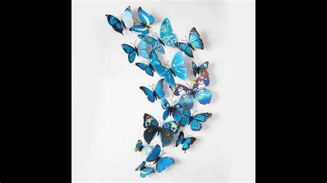 Butterfly 3d Wall Sticker butterfly decals for walls butterfly wall decals