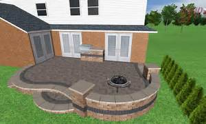 Image of: Brick Paver Patio Idea Landscaping Gardening Idea Brick Patio Designs For Your Garden