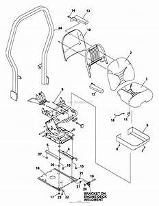 Bunton  Bobcat  Ryan 642220a  48 Side Discharge Parts Diagram For Seat