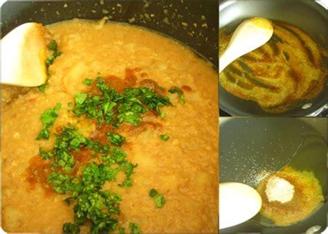 cuisine egyptienne recette soupe de lentilles corail recette egyptienne le