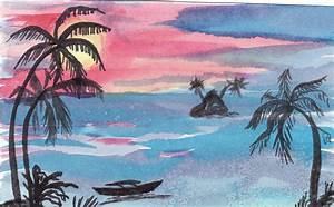 Comment Dessiner La Mer : tahiti paysage ~ Dallasstarsshop.com Idées de Décoration
