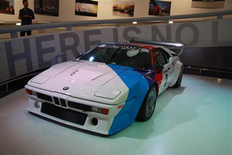 Bmw M1 Racing Car In Bmw-museum In Munich, Bayern.jpg