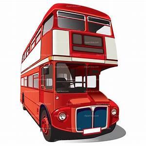 Double-decker London Bus Clipart - Clipart Suggest
