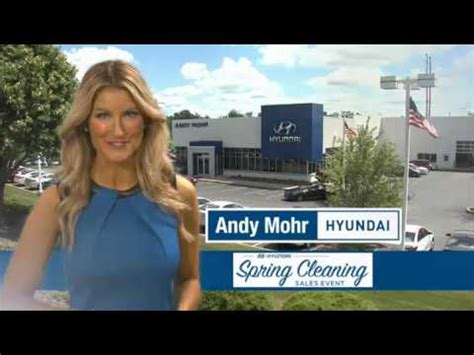andy mohr hyundai march  tv commercial youtube