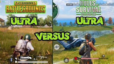 pubg mobile  ros rule  survival graphic gamepla