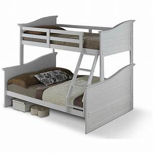 WAVE Double Bed With Single Bunk Bed Kids Furniture