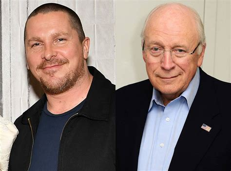 Christian Bale Unrecognizable Dick Cheney First