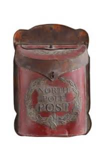 big farmhouse metal pole post mailbox