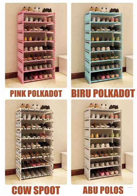 Rak Sepatu Portable 9 Susun jual rak sepatu 8 susun portable di lapak berjaya88 cutteshop