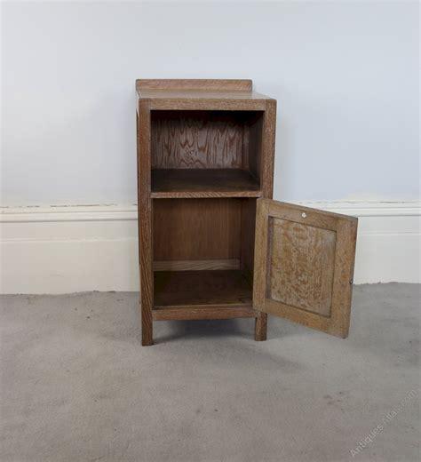 heals  limed oak bedside cabinet antiques atlas