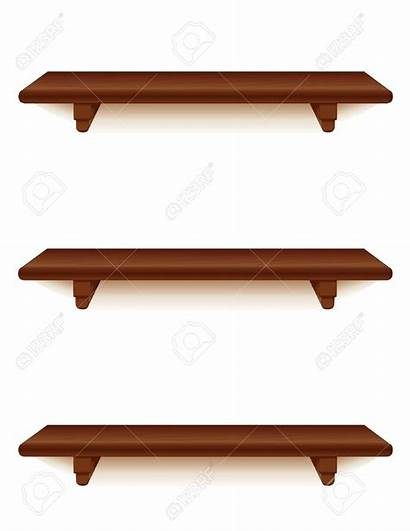 Shelf Clipart Wall Shelves Books Curved Clipartmag