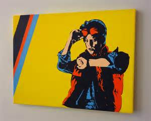 Back to the Future Marty McFly Art