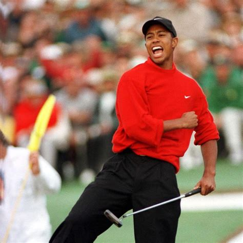Tiger Woods' first Masters Tournament win - New York Daily ...