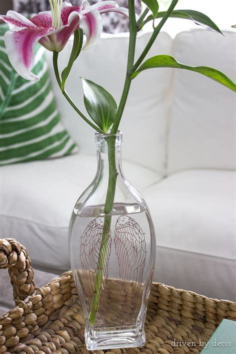 How to Remove Lettering from Glass Bottles (to Make a