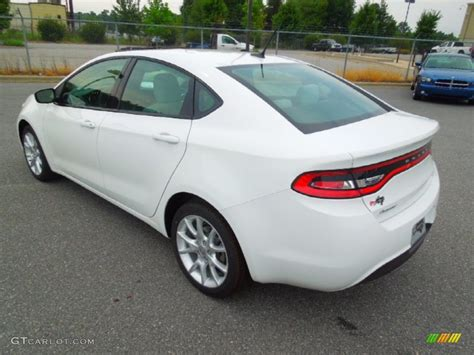 Bright White 2013 Dodge Dart SXT Exterior Photo #69437596