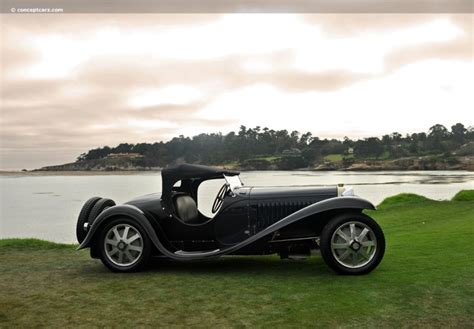 1932 Bugatti Type 55 At The Pebble Beach Concours D'elegance