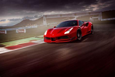 2017 novitec rosso 488 gtb hd cars 4k wallpapers