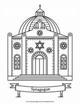 Hanukkah Coloring Pages Pdf Synagogue Primarygames Printable sketch template