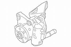 Genuine Bmw Power Steering Pump 32416769887