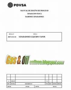 Gas U0026oilenlinea  Manual De Dise U00d1o De Proceso - Separacion Fisica