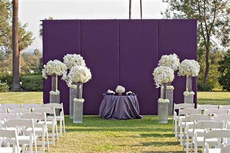 gorgeous ideas  ceremony backdrops
