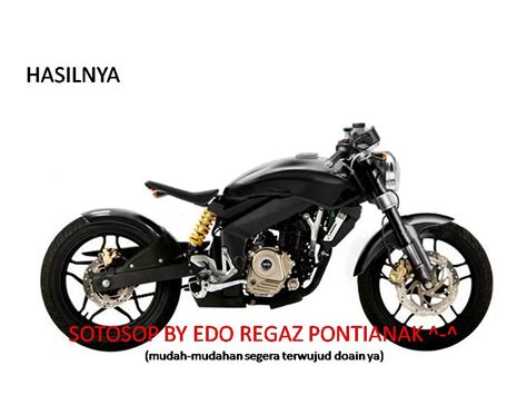 Modifikasi Kawasaki Pulsar 200ns by Ide Modifikasi Kawasaki Bajaj Pulsar 200ns Ala Bobber Mac