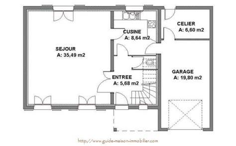 plan de maison plain pied gratuit 3 chambres concours et idées de déco vive la décoration