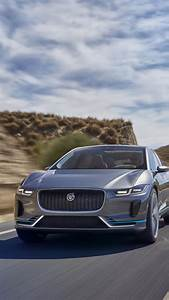 Wallpaper Jaguar I-PACE, Electric Sports Cars, Crossover